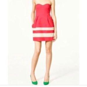 Zara Trf dress size medium pretty strapless